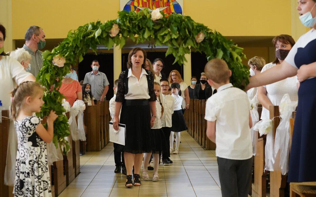 Te Deum és ballagás – Szent Margit Katolikus Óvoda Kaposvári Egyházmegye 2021.06.14.